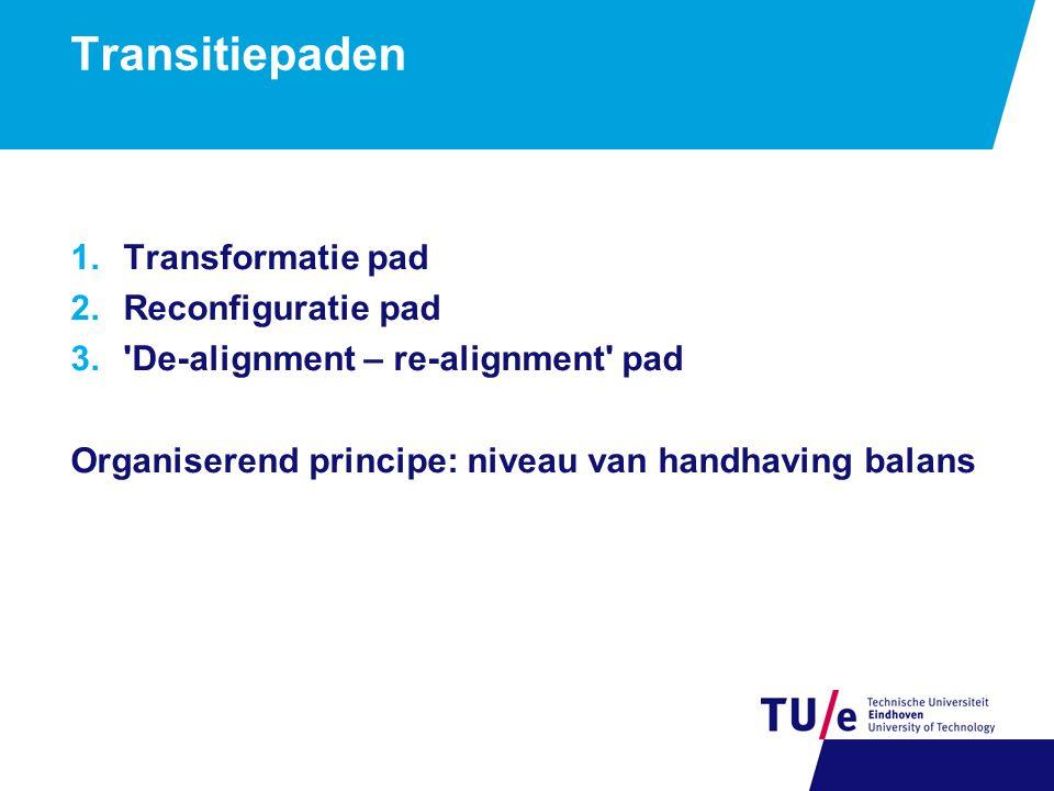 Transformatie transitiepad: naar hybride netwerken