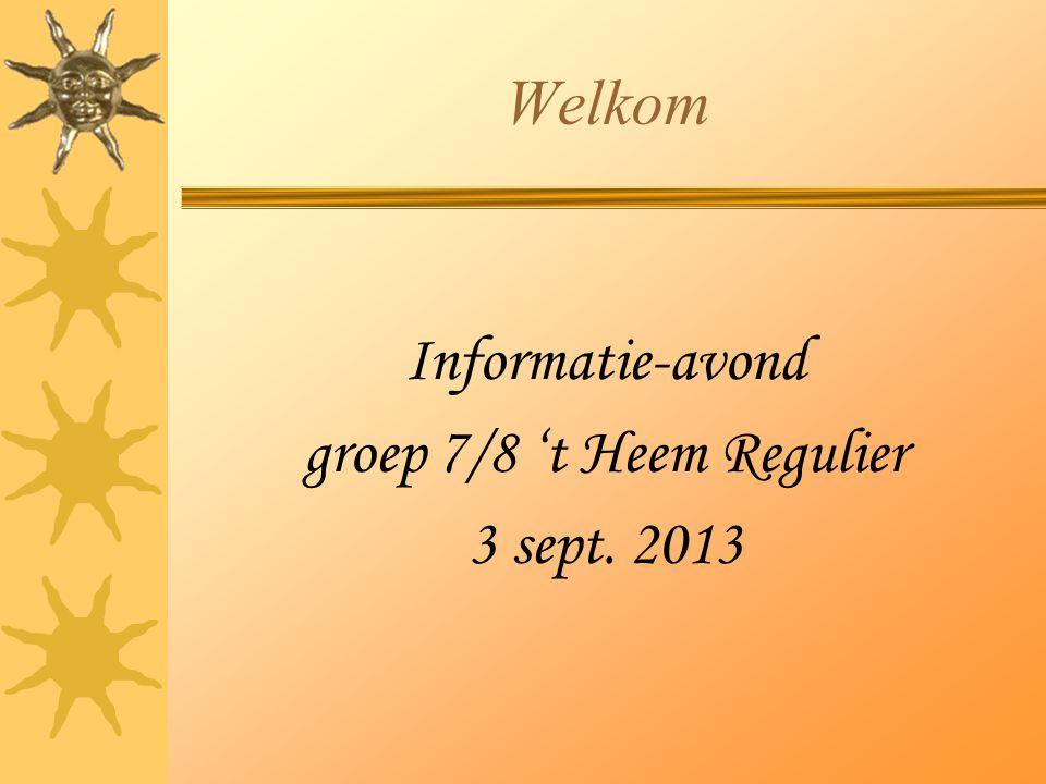 groep 7/8 't Heem Regulier