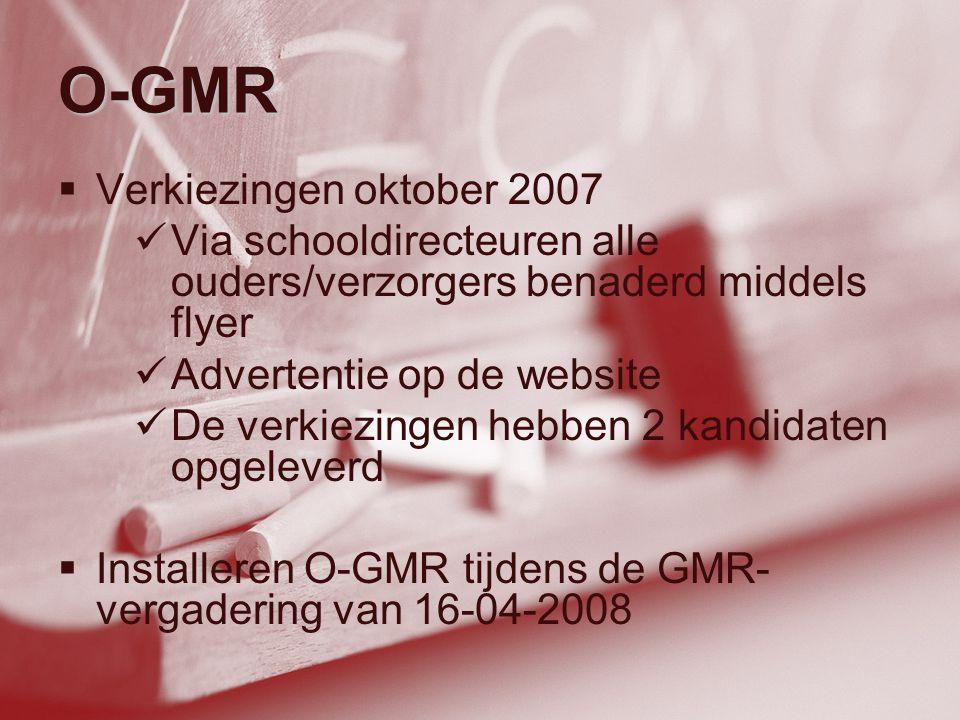 O-GMR Verkiezingen oktober 2007