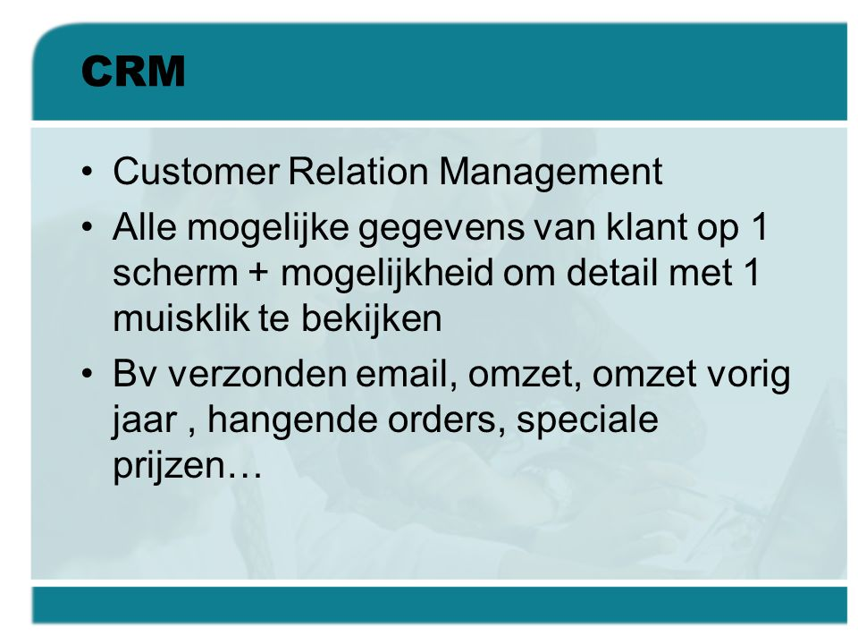 CRM Customer Relation Management
