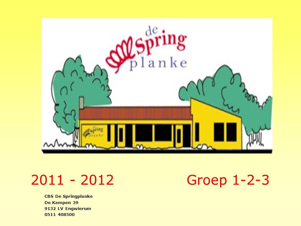2011 - 2012 Groep 1-2-3 CBS De Springplanke De Kampen 39