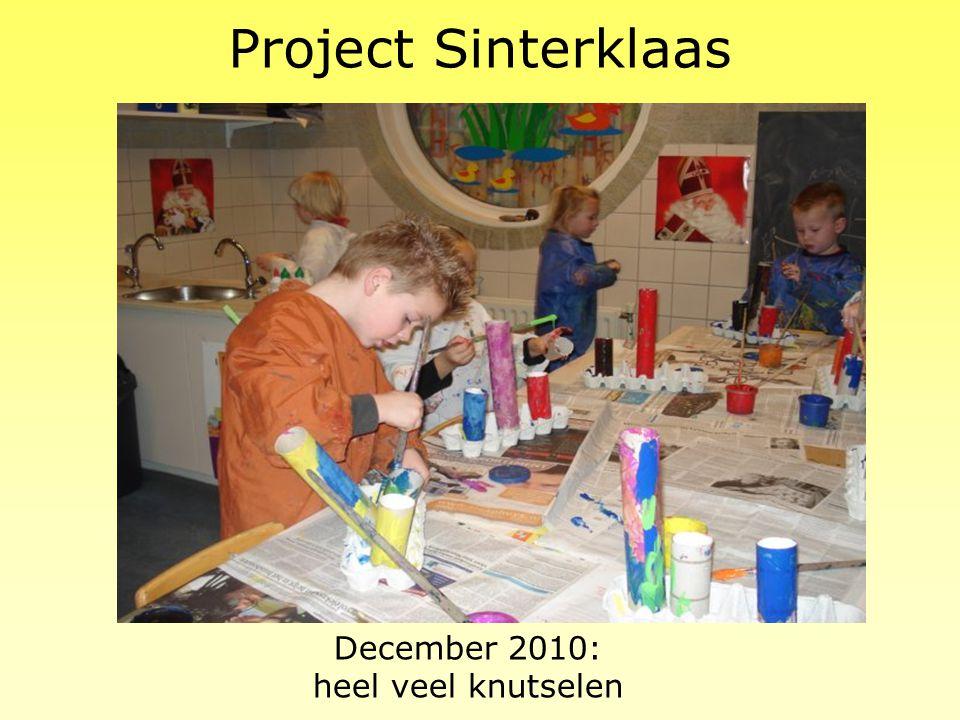 December 2010: heel veel knutselen