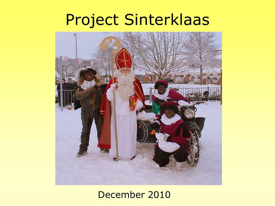 Project Sinterklaas December 2010
