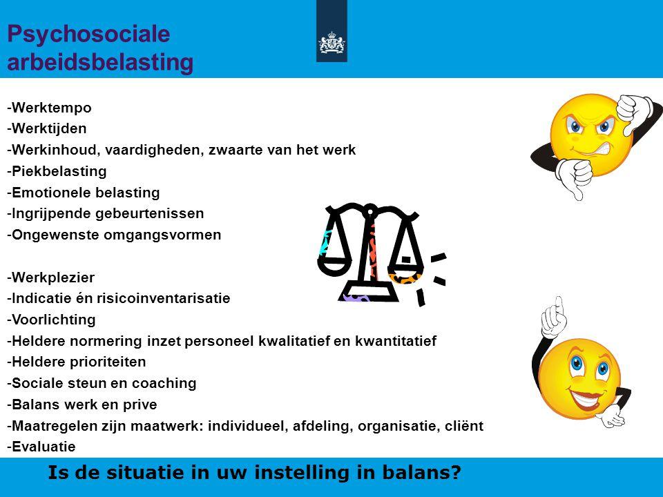 Psychosociale arbeidsbelasting