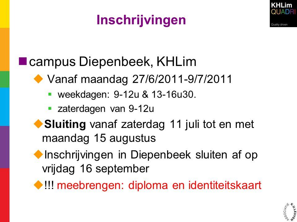 campus Diepenbeek, KHLim