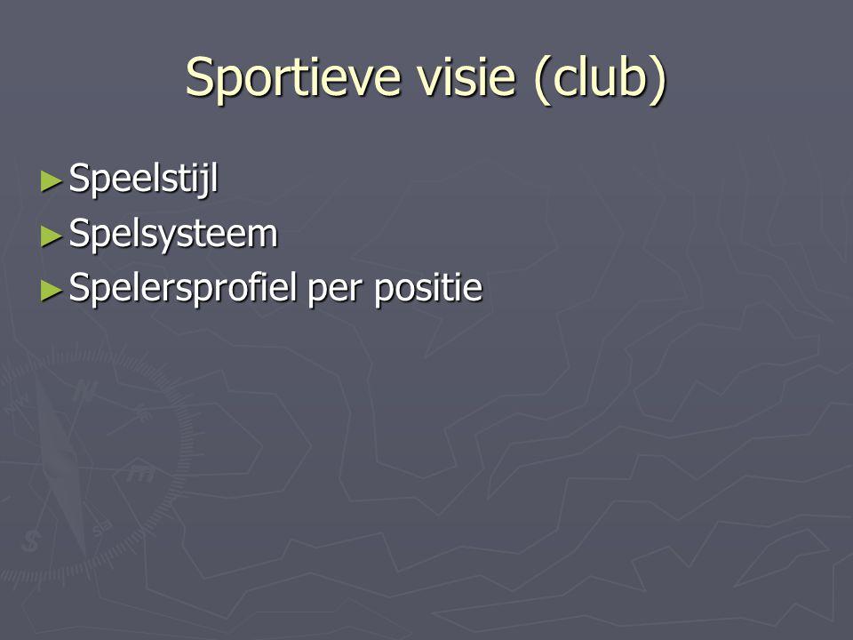 Sportieve visie (club)