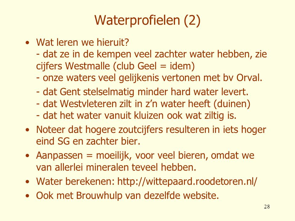 Waterprofielen (2)