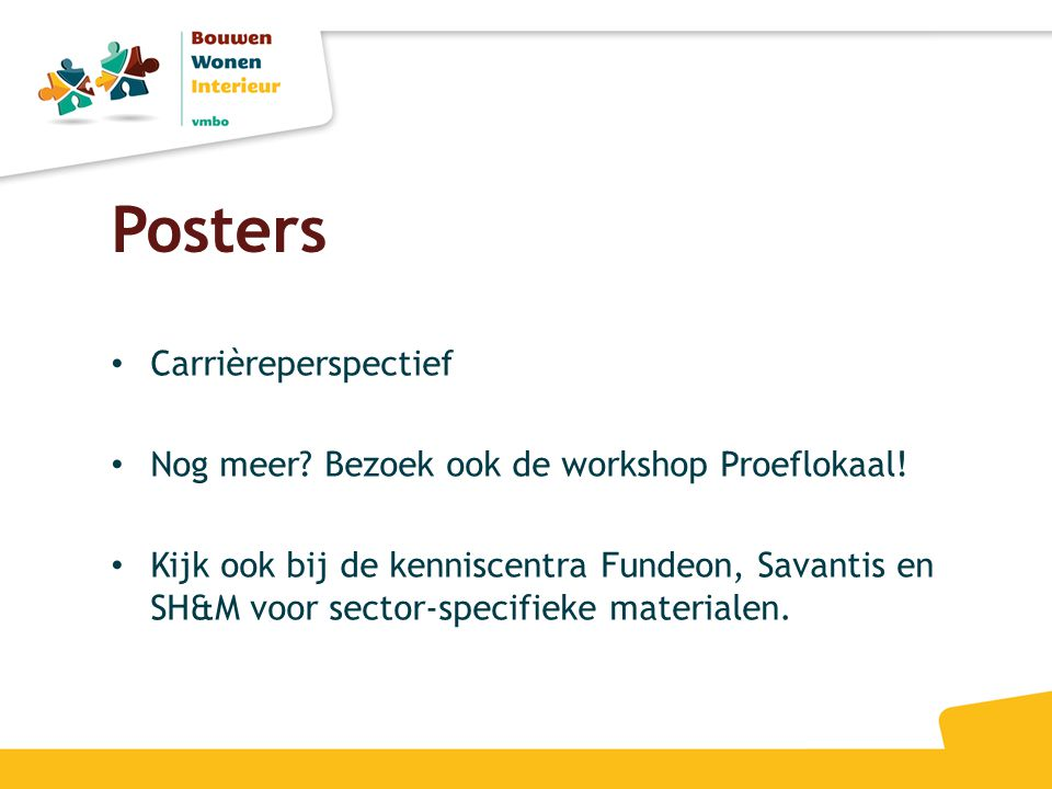 Posters Carrièreperspectief