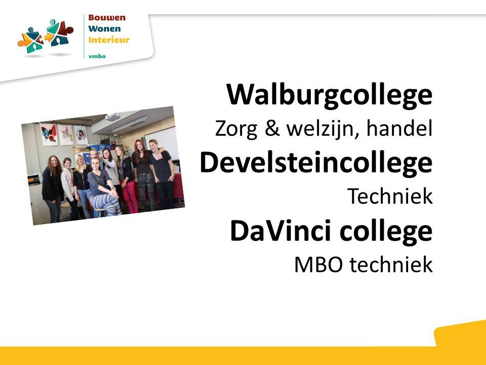 Walburgcollege Develsteincollege DaVinci college