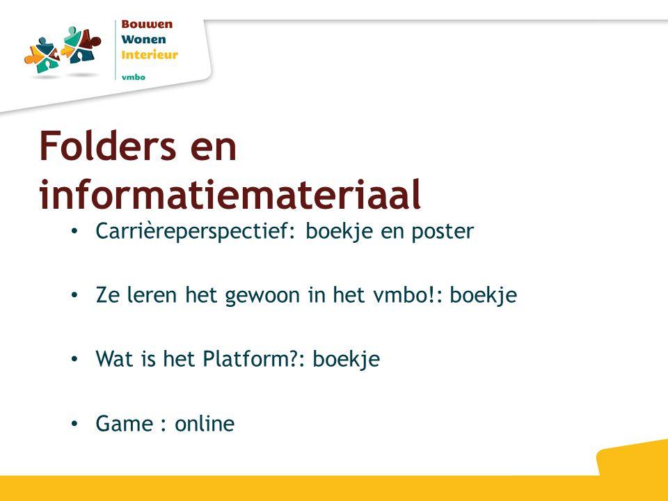 Folders en informatiemateriaal
