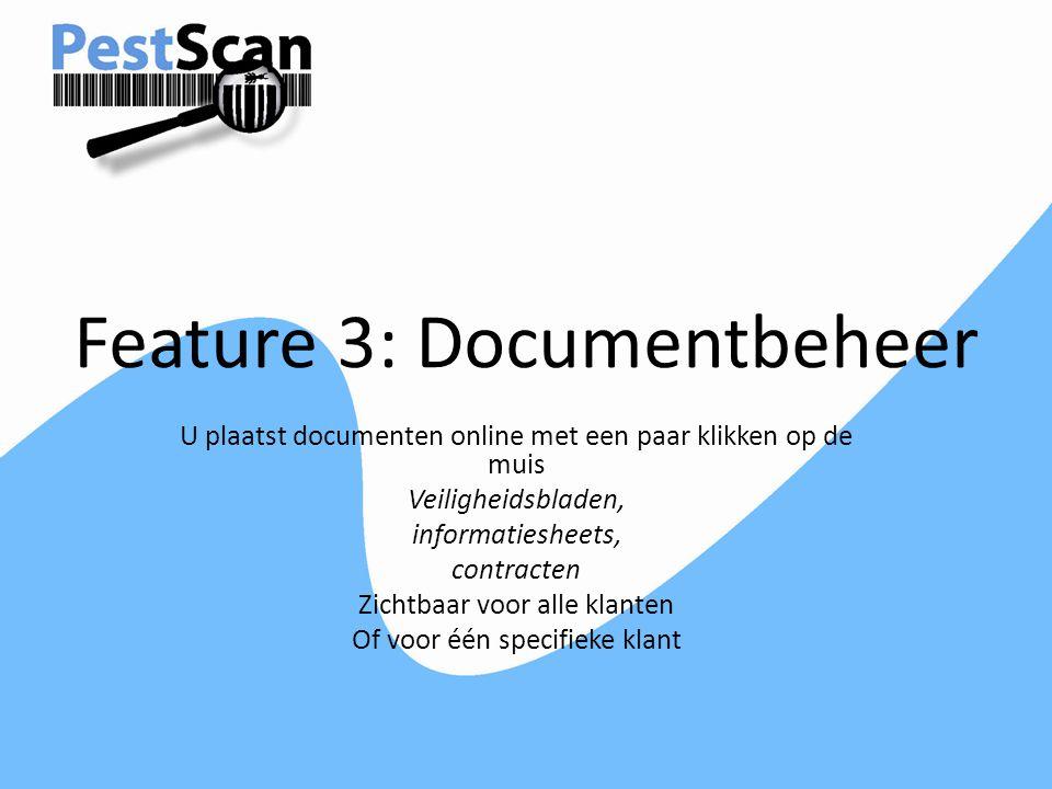 Feature 3: Documentbeheer