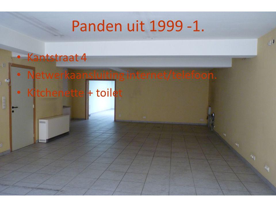 Panden uit 1999 -1. Kantstraat 4 Netwerkaansluiting internet/telefoon.