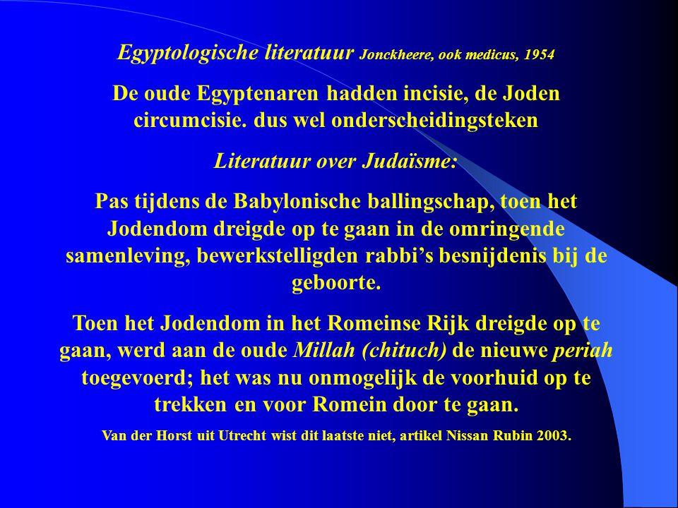 Egyptologische literatuur Jonckheere, ook medicus, 1954