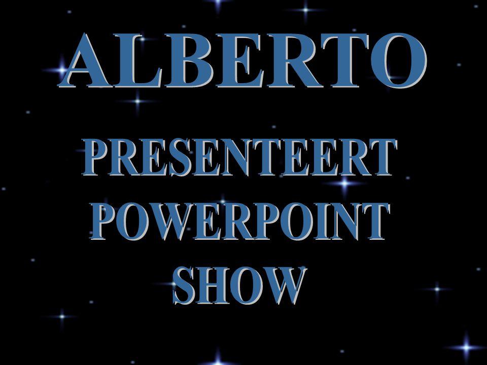 ALBERTO PRESENTEERT POWERPOINT SHOW