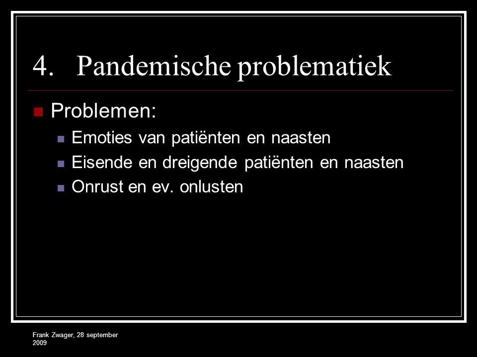 Pandemische problematiek