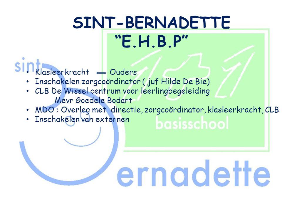 SINT-BERNADETTE E.H.B.P