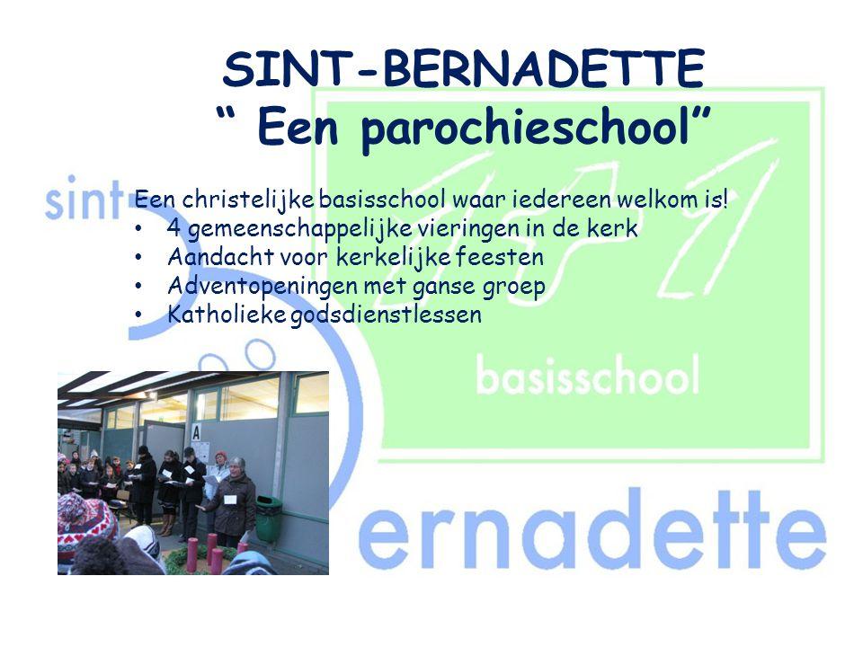 SINT-BERNADETTE Een parochieschool