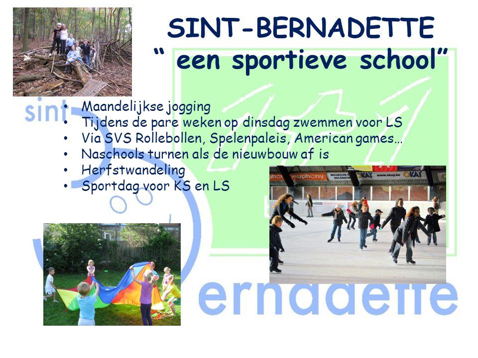 SINT-BERNADETTE een sportieve school