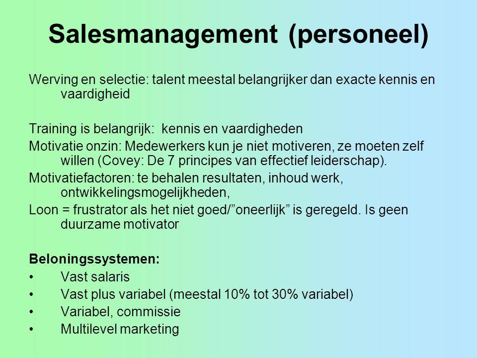 Salesmanagement (personeel)