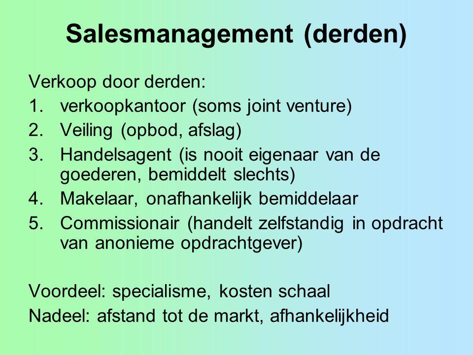 Salesmanagement (derden)
