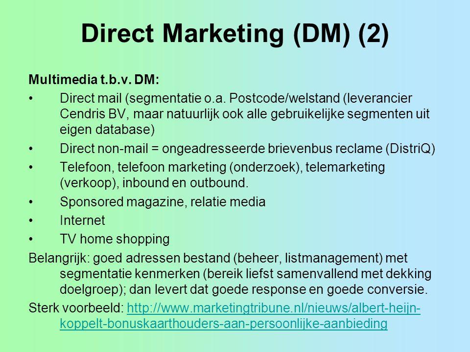 Direct Marketing (DM) (2)