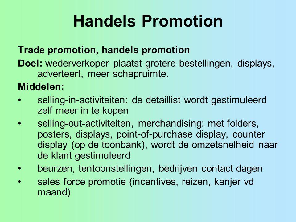 Handels Promotion Trade promotion, handels promotion
