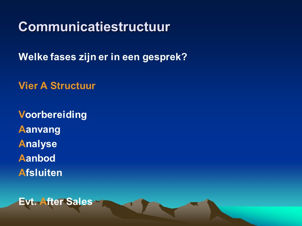 Communicatiestructuur
