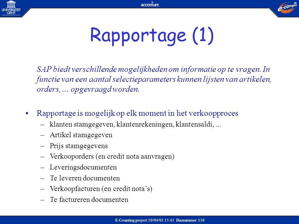 Rapportage (1)