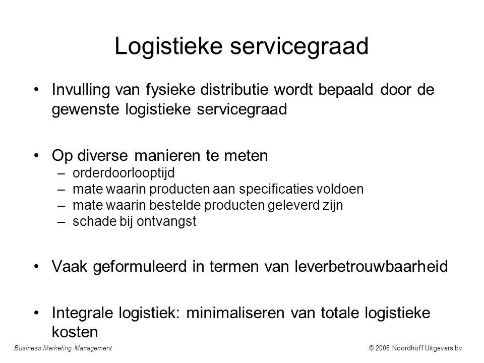 Logistieke servicegraad