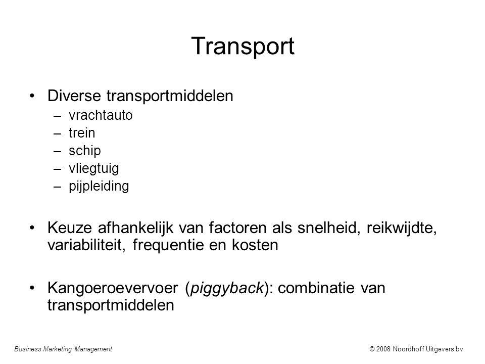 Transport Diverse transportmiddelen