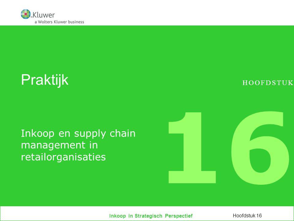 Inkoop en supply chain management in retailorganisaties