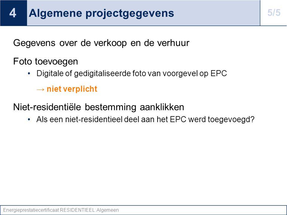 Algemene projectgegevens