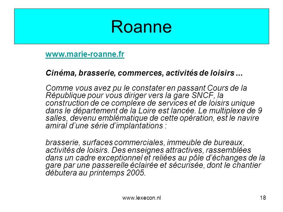 Roanne www.marie-roanne.fr