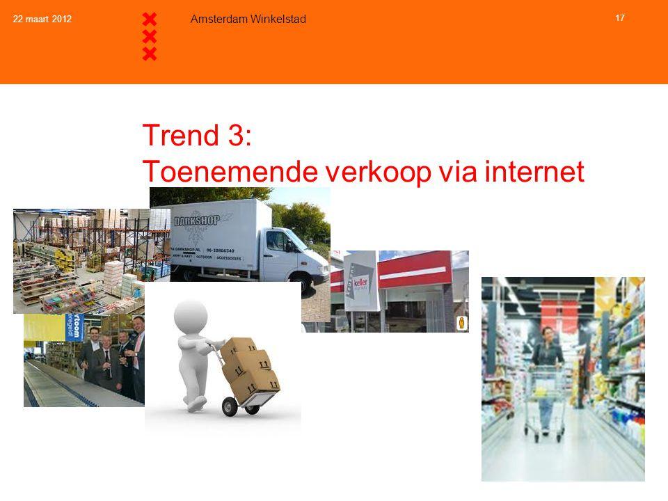 Trend 3 en beleid: Toenemende verkoop via internet