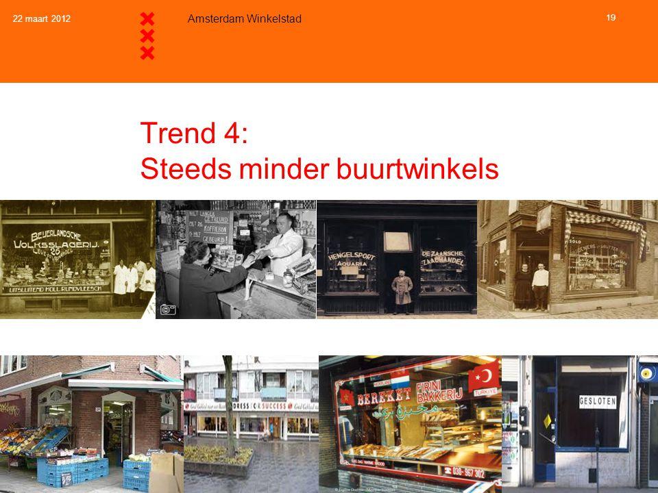 Trend 4 en beleid: Steeds minder buurtwinkels