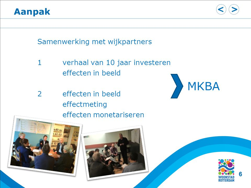 MKBA Aanpak Samenwerking met wijkpartners