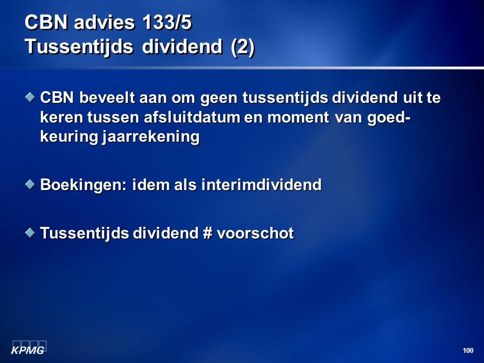 CBN advies 133/5 Tussentijds dividend (2)
