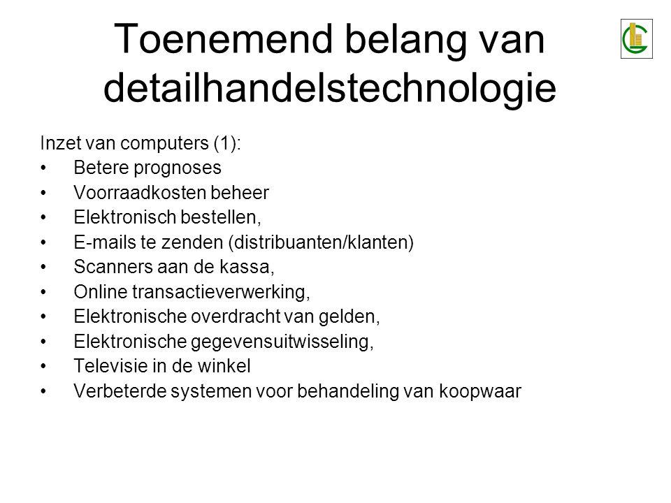 Toenemend belang van detailhandelstechnologie