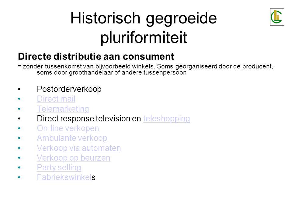 Historisch gegroeide pluriformiteit