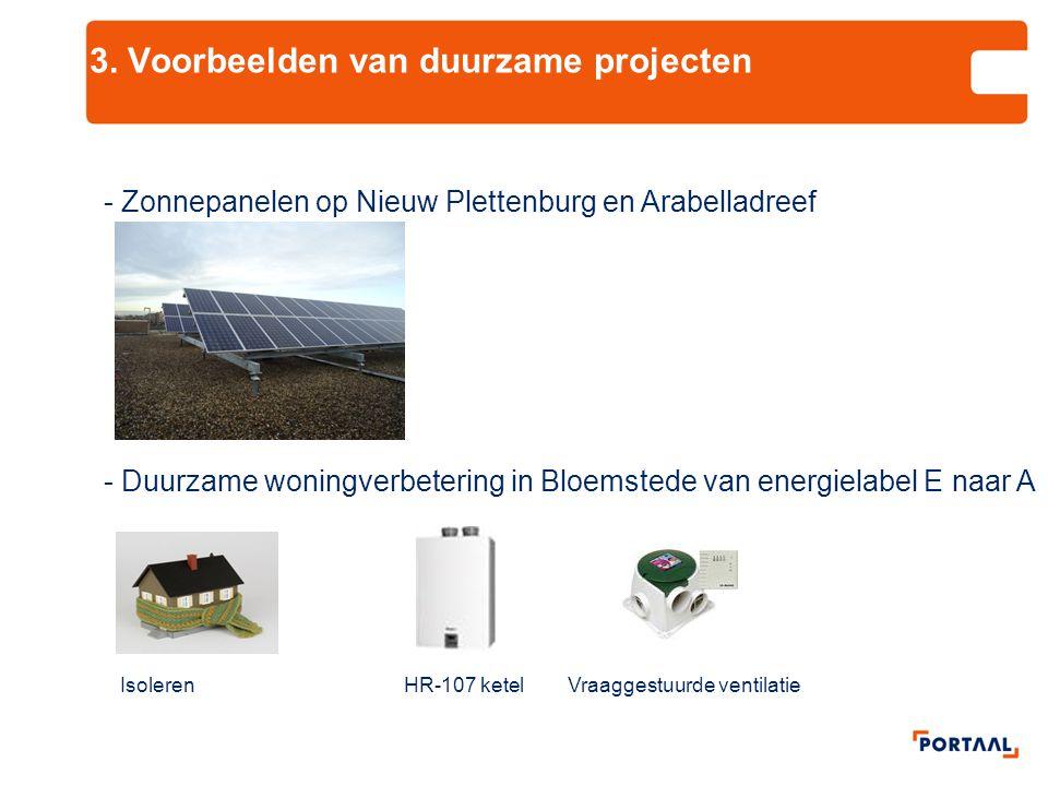 3. Voorbeelden van duurzame projecten
