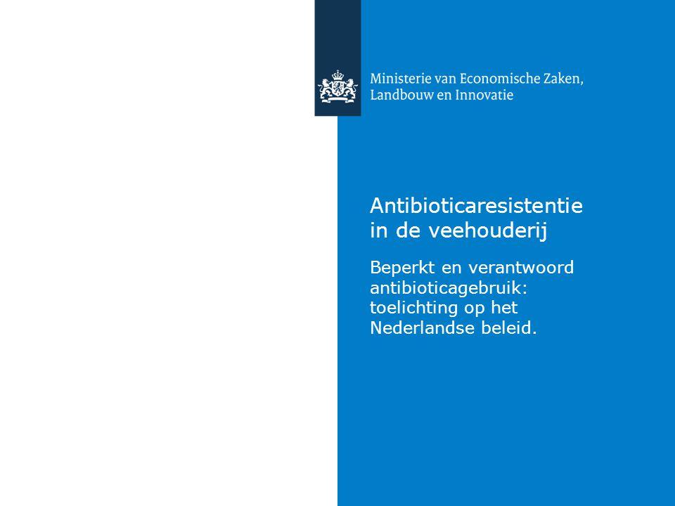 Antibioticaresistentie in de veehouderij