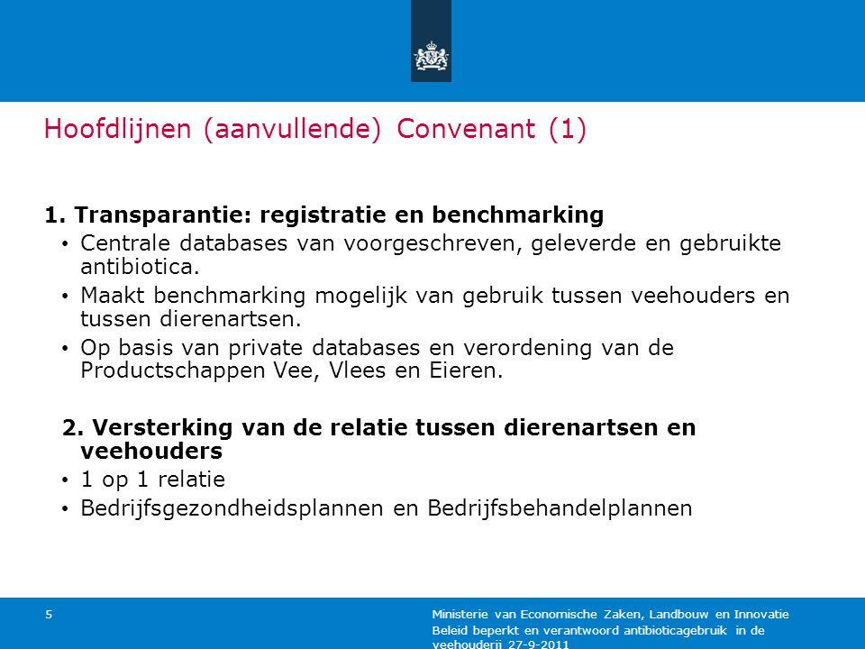 Hoofdlijnen (aanvullende) Convenant (1)