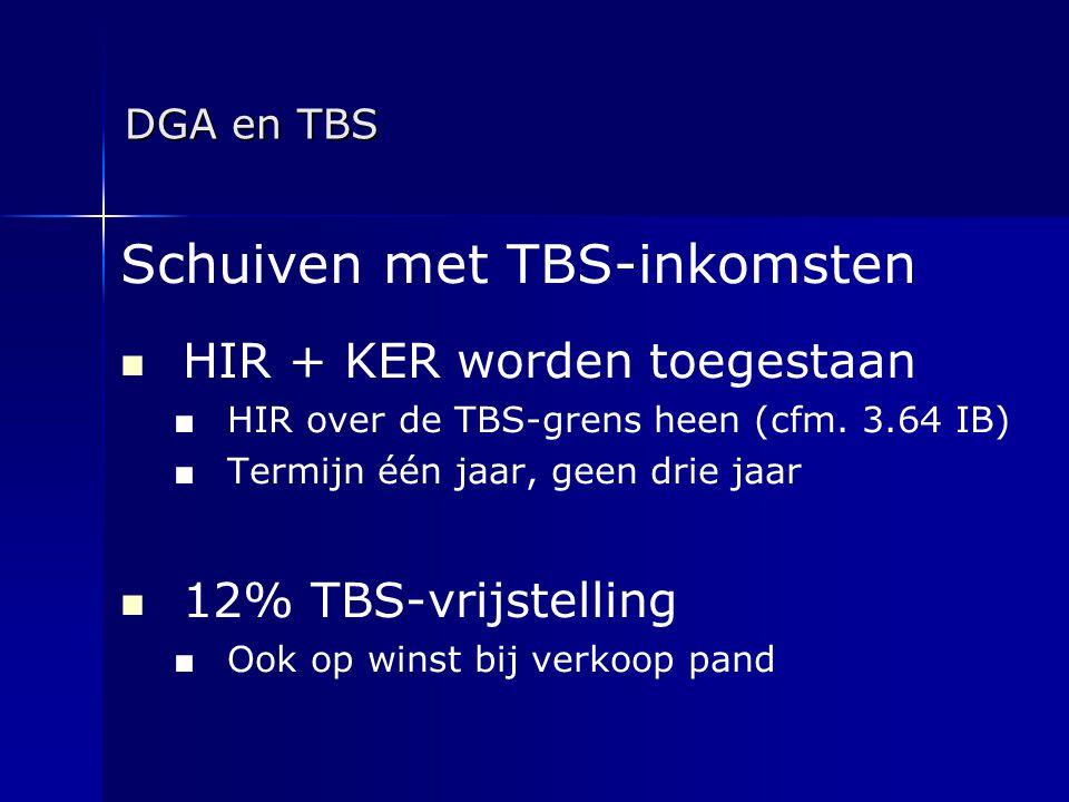 Schuiven met TBS-inkomsten