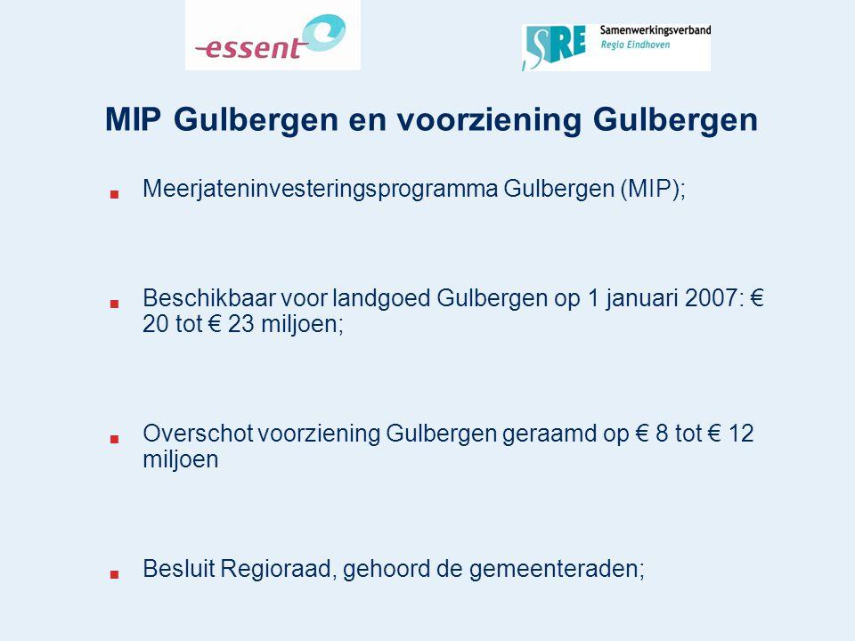 MIP Gulbergen en voorziening Gulbergen