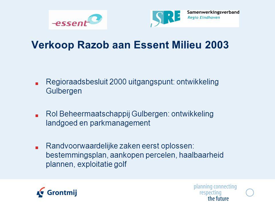 Verkoop Razob aan Essent Milieu 2003