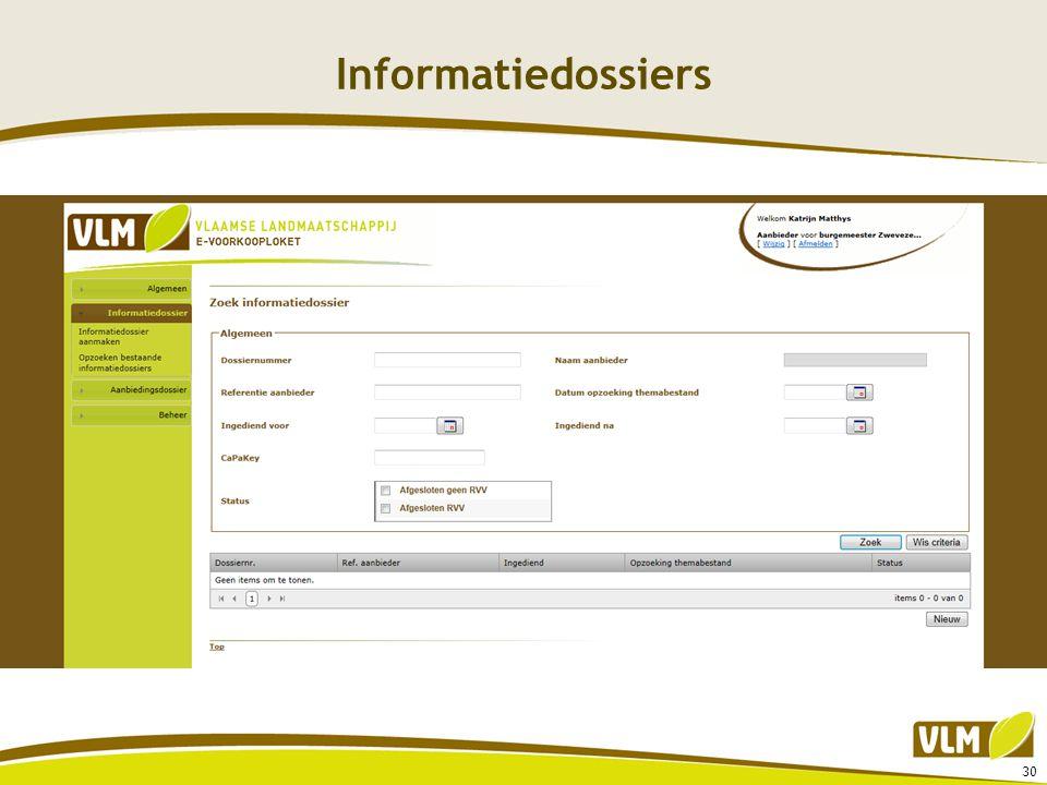 Informatiedossiers