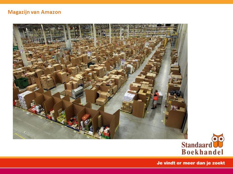 Magazijn van Amazon