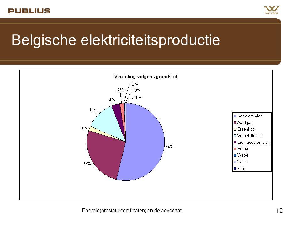 Belgische elektriciteitsproductie