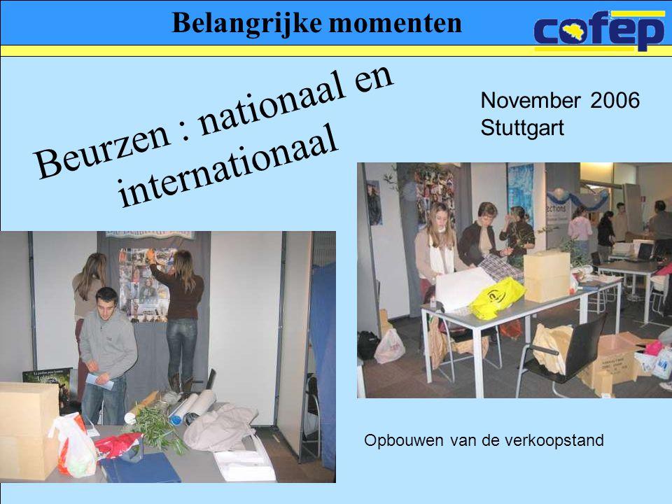 Beurzen : nationaal en internationaal