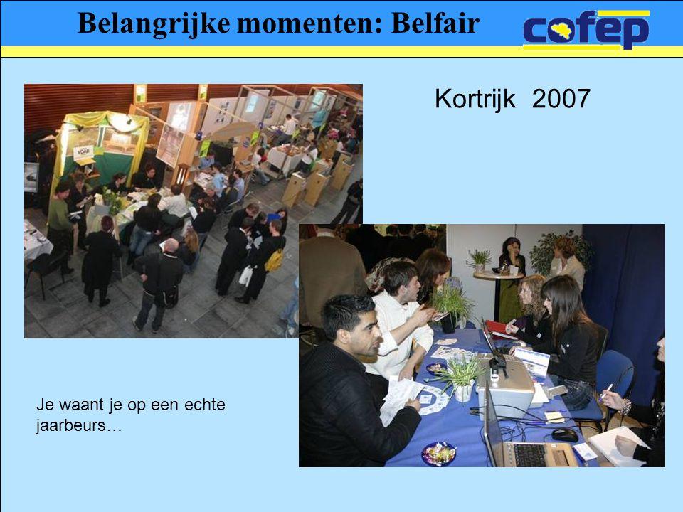 Belangrijke momenten: Belfair